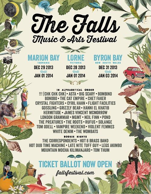 THE FALLS MUSIC and Arts Festival