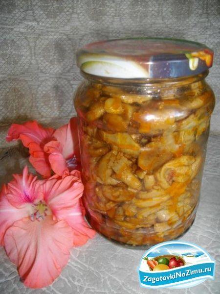 Грибы на зиму. Жареные волнушки с овощами. Рецепт с пошаговыми фото