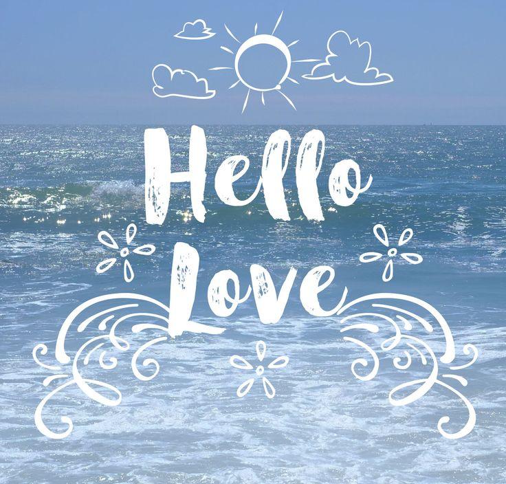 Hello Love - Free Text Photo Overlays