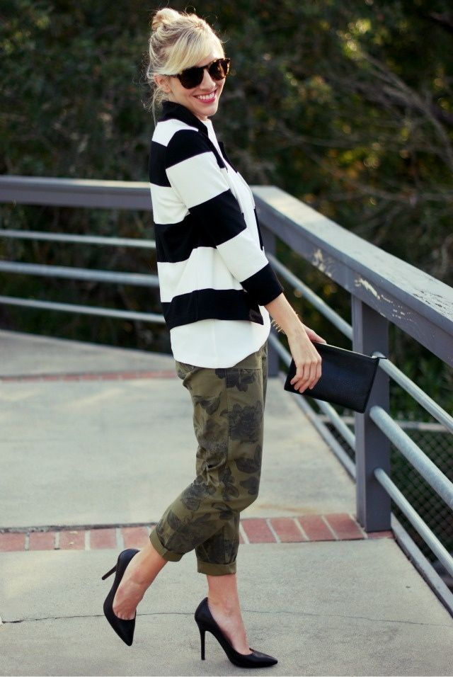 6 Chic Ways to Wear Camouflage | Glam Radar: