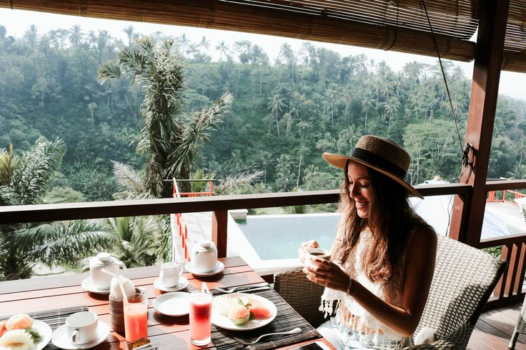 Nestled in the cliffside of a small rural village about 30 minutes north of Ubud, Bali is this magical, jungle oasis: Suarapura Resort. Click to see our full review and must-see Bali adventures!