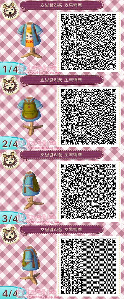 animal crossing new leaf qr codes (original)