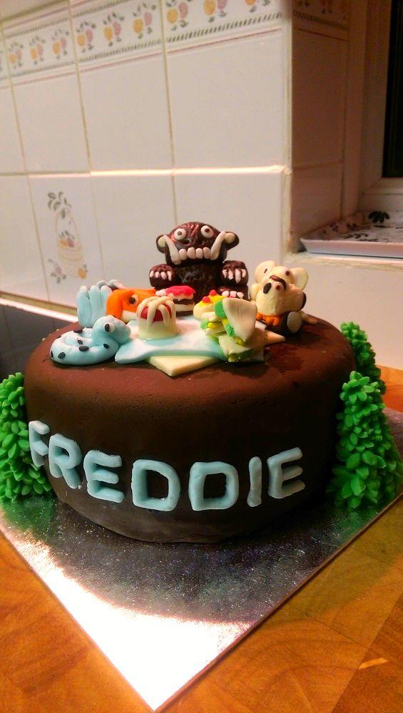 The Gruffalo themed cake