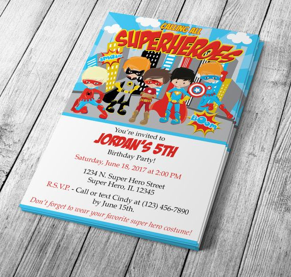 17 best Kids Birthday Invitations \ More images on Pinterest - best of invitation birthday party text