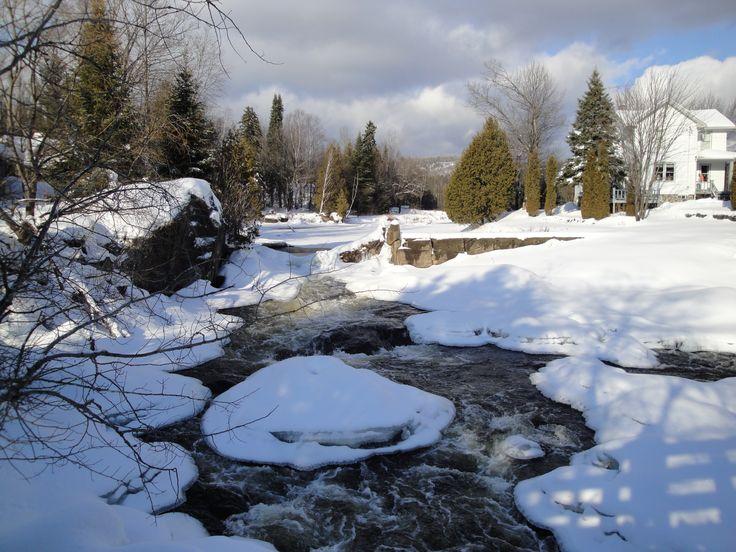La rivière du Nord, à Val-David