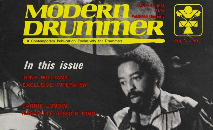 Get a digital subscription AND unlock our entire archive for only $4.95/month to access classic issues like this one with the great Tony Williams. More info at the link in our bio  #TonyWilliams #drums #drummer #drumming