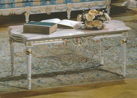 【送料無料】FRATELLI ORIGGI (旧マリオ・コルチャゴ) センターテーブル ロココ調 ハンドメイド 輸入雑貨 輸入家具