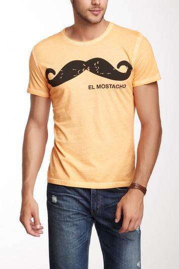 El Mostacho Tee by Spenglish Tees on @HauteLook