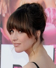 long half moon bangs - Google Search