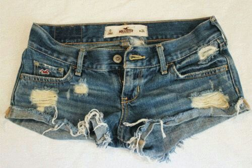 Hollister shorts. Once I get to my fitness goal I'm buying hollister shorts and jeans just because I've always been like 3/4 sizes away from fitting into anything but the sweats and leggings.