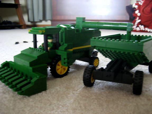 While there aren't any official John Deere Lego sets, as evidenced by the images below, there's no shortage of John Deere fanatics with Legos. Ranging from complicated Lego Technic John Deere models with movable parts to simple John Deere lawn tractors formed with traditional Lego pieces, each of these creations required an affection for our products and a good deal of creativity.