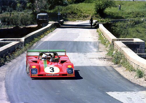Ferrari 312 PB, Arturo Merzario