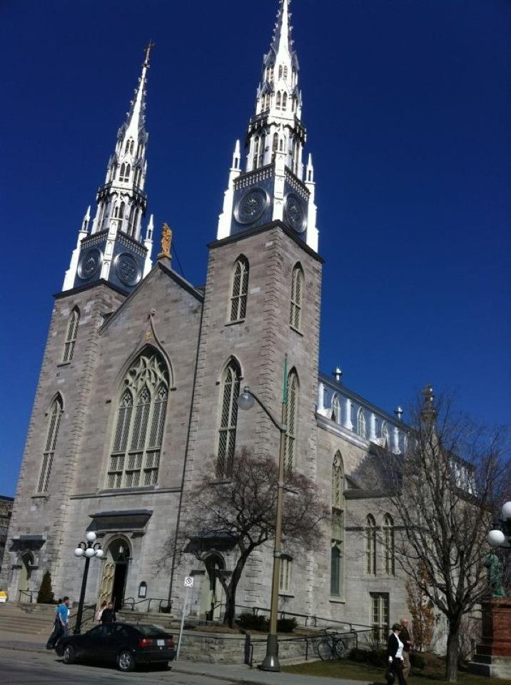 The Notre Dame Cathedral, Ottawa. For more information on Ottawa visit www.ottawatourism.ca