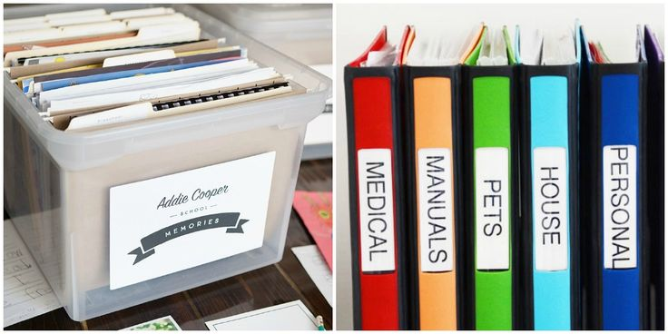8 ways to organize all of your most important paperwork The most organized home