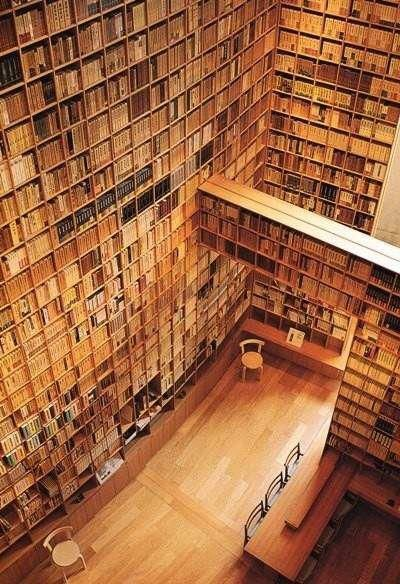 absolutely beautiful: Dreams Libraries, Museums, Libraries Book, Libraries Design, Personalized Libraries, Dreams Room, The Beast, Tadao Ando, Heavens