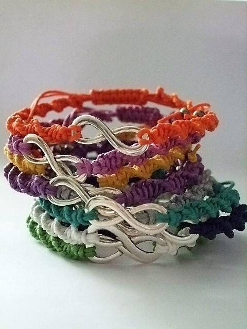 Macrame braceletAdjustable braceletFriendship Minimalist