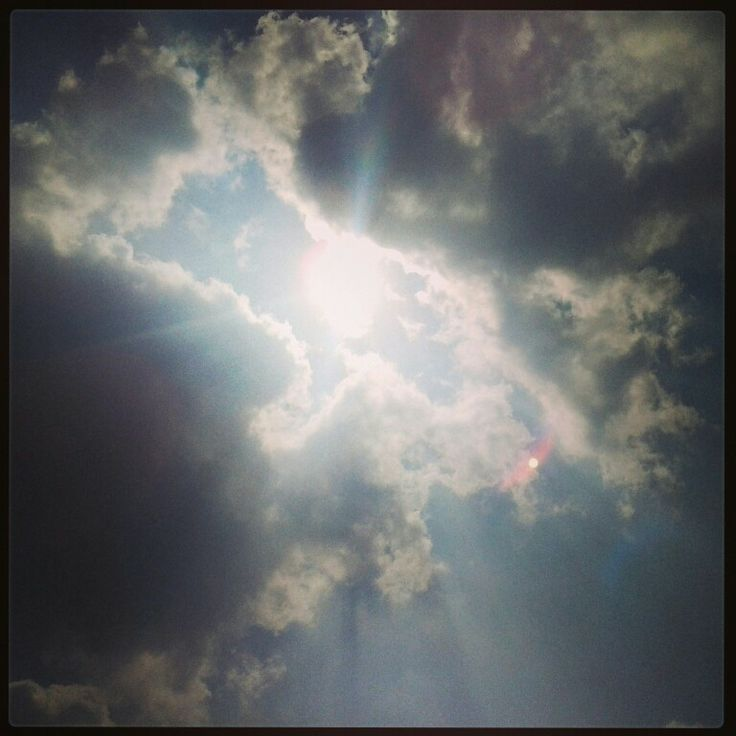 #sunrays #clouds #sunlight #sun #morning #day