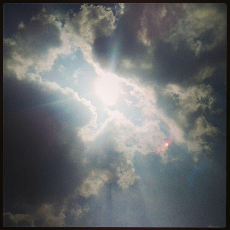 #sunrays #clouds #sunlight #sun #morning #day