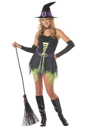 Cute witches costumes teens