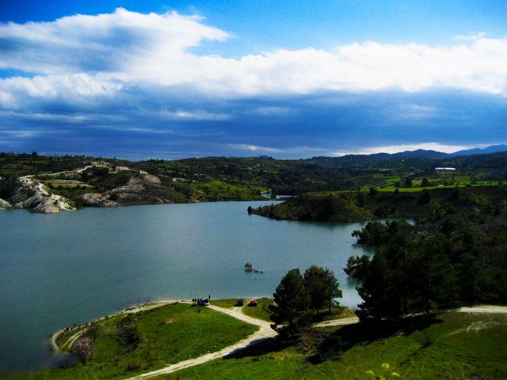 Tamasos Dam (Φράγμα Ταμασού) by Ειρήνη Μαυρή on 500px