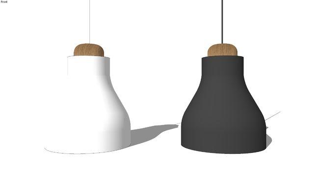 Pendant lamp by Frandsen d=310mm