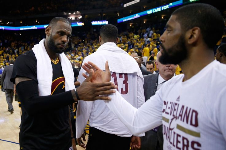 LeBron James, Kyrie Irving each score 41 as Cavaliers win Game 5 of NBA Finals - The Washington Post