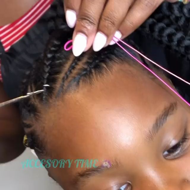 How to kid's braids accessories