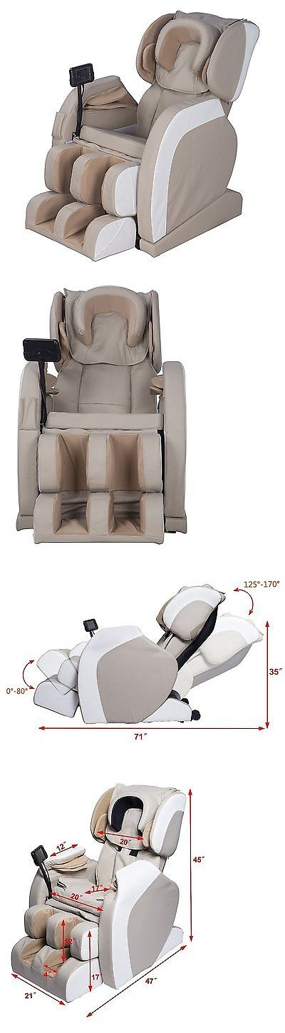Electric Massage Chairs: Full Body Shiatsu Massage Chair Recliner W/Back Roller And Heat Stretched Foot BUY IT NOW ONLY: $1041.51