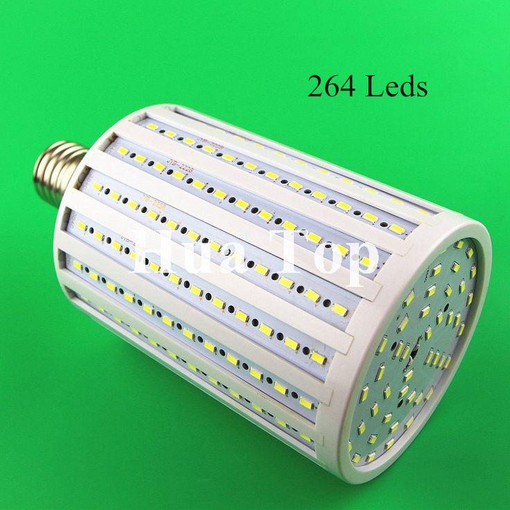 Lampada 100W 264 Leds 5730 Chip LED Corn Lamps E40 E27 E26 B22 Bulb Lights AC 220V 240V 5630 Warm White High Luminous Spotlight #Affiliate
