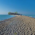 Point Peele National Park. Beach walk on the point and tip. Long scenic boardwalk.