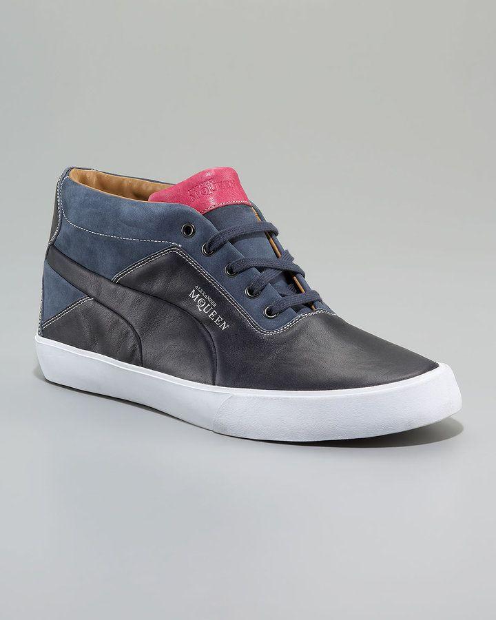 Alexander McQueen PUMA   AMQ Deck Sneaker, Sapphire