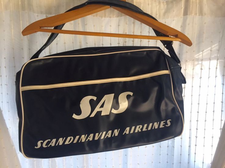 A personal favorite from my Etsy shop https://www.etsy.com/listing/456704500/vintage-scandinavian-airlines-bag