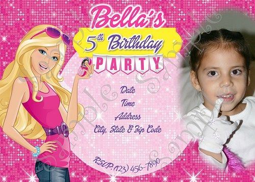 20 best Barbie Birthday Party images on Pinterest Barbie birthday