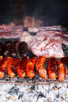 Barbecued goat (chivito) recipe : SBS Food