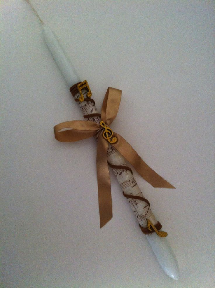 Easter candle for 17 y old girl! By Stella Handicrafts!