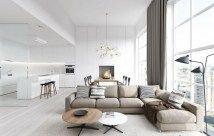 Beautiful Modern Living Room Interior Design 97