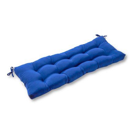 "$28.79 Greendale Home Fashions 44"" Outdoor Swing/Bench Cushion, Marine Blue"