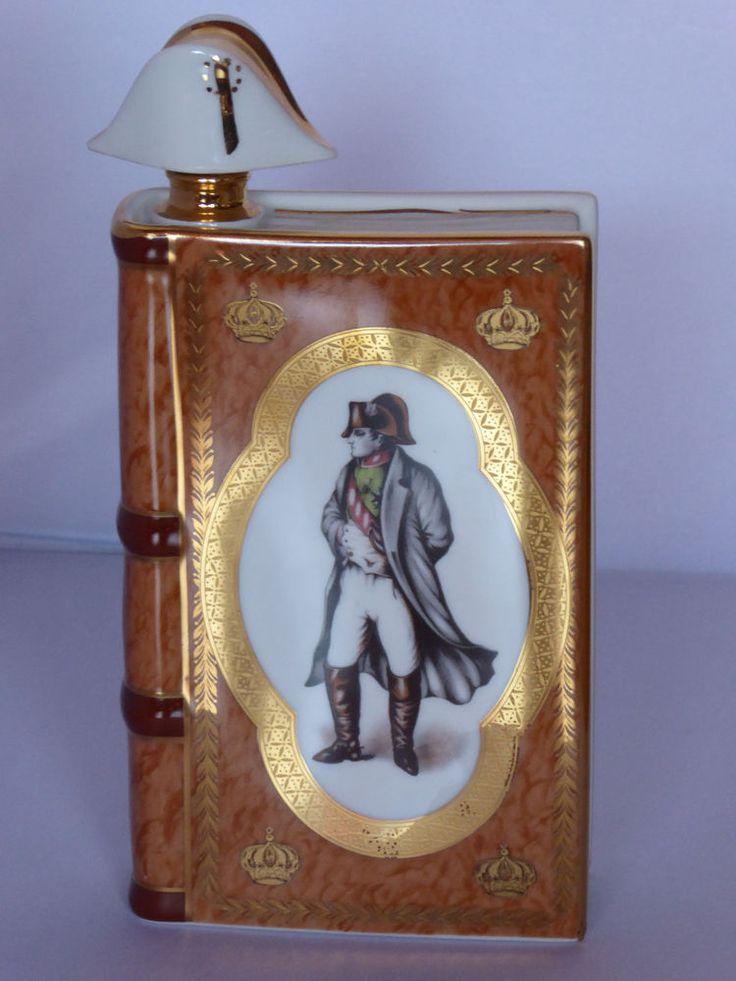 BOTTLE CAMUS COGNAC NAPOLEON LIMOGES PORCELAIN EMPIRE STYLE - NAPOLEON FRANCE  | eBay