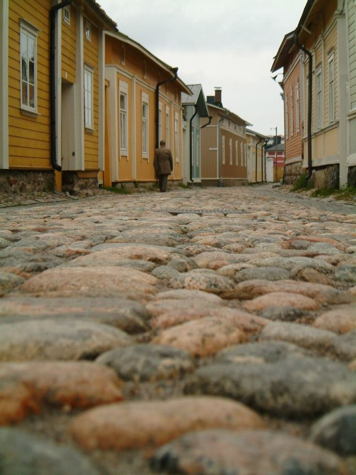 Old Rauma, Finland by Oili Salonen.