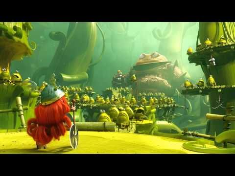 Rayman Legends - E3 2013 - Epic Trailer [UK] Here comes Lil Red!