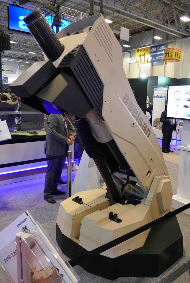 Aselsan 120mm automatic mortar