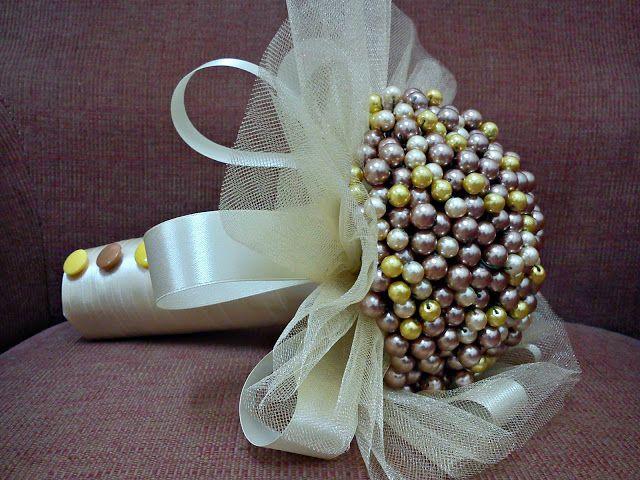 Nursaila Norman: Pearl Handbouquets : Bride 2 Be From Rawang & Sg.B...