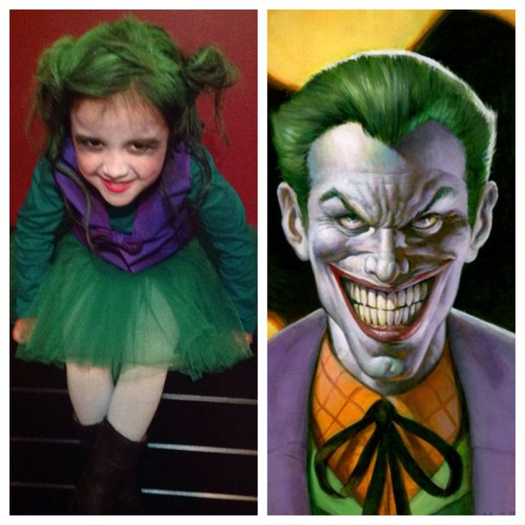 joker halloween costume homemade