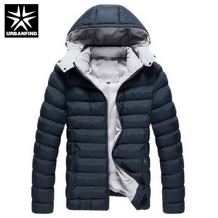 URBANFIND 2016 <b>Winter Men</b> Jackets <b>Mens</b> Cotton Coats Casual ...