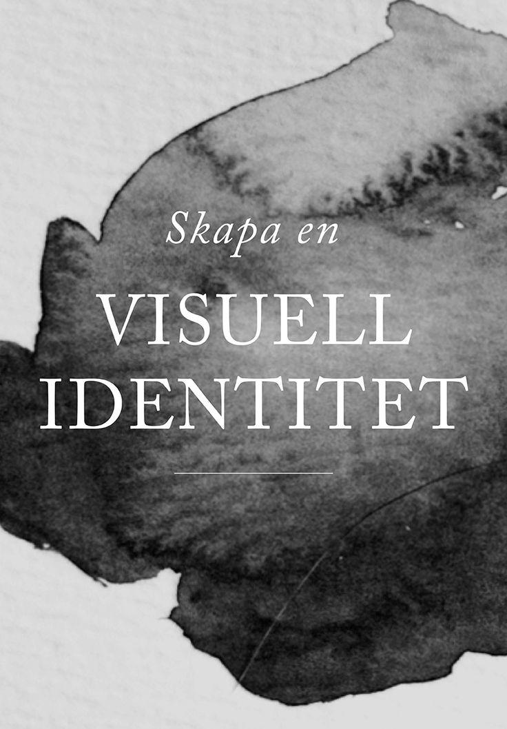 En stark visuell identitet får ditt företag och dina produkter att sticka ut och en grafisk profil är därför viktig så du kan planera din marknadsföring.