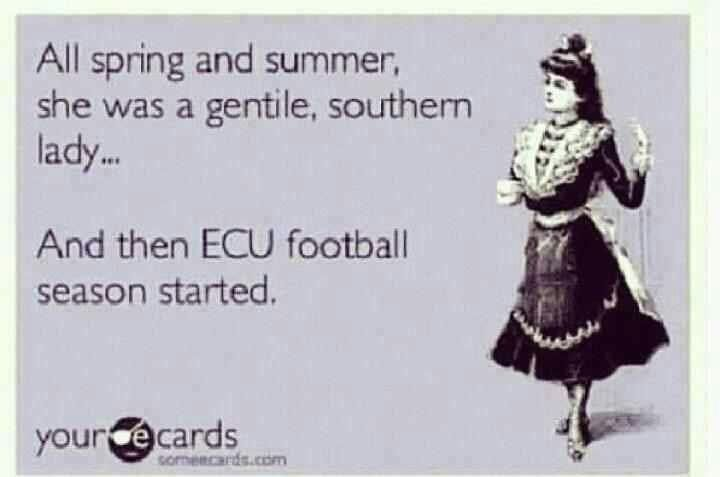 ECU Football...go Pirates!
