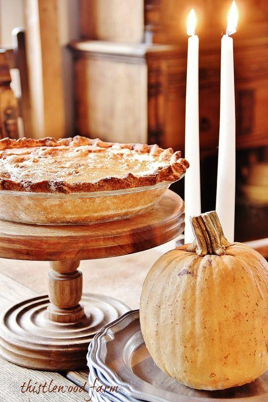 Pumpkin Pie ~ from real pumpkins