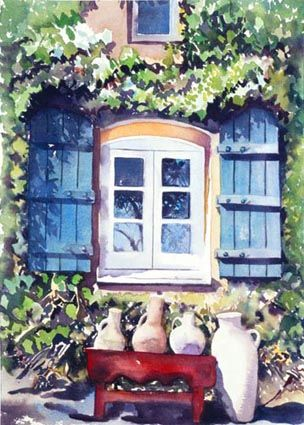 Tuscany Paintings Of Windows | tuscanwindow