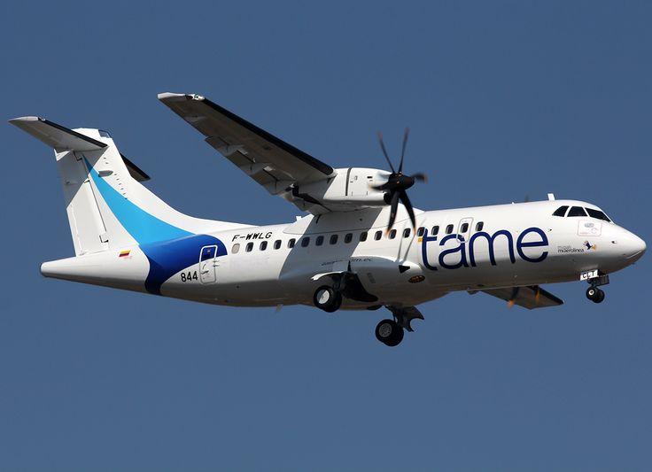 Tame Ecuador Airlines   ATR42-500