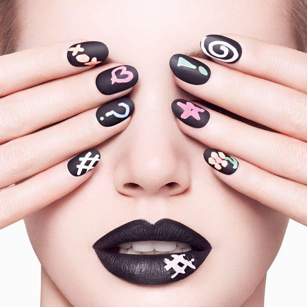 Chalkboard nail polish?! {via @YouBeauty}